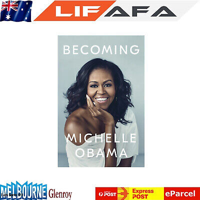 Becoming by Michelle Obama - Hardcover Book New Xmas Gift for Childrens