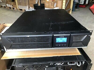 ION F16-2000 2000VA / 1800W Rack Mount 2U UPS w LCD & New Battery 6-Month Wty