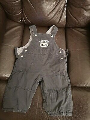 Genuine Baby Boys Armani Jeans Dungarees Age 6m