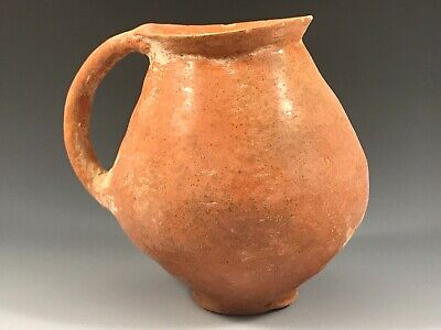 ANCIENT HOLY LAND TERRA-COTTA CUP; EARLY BRONZE AGE, circa 2500 B.C.