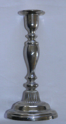 "Vintage Godinger Silver Plated Candle Stick 8"" Tall Signed Beautiful Piece"