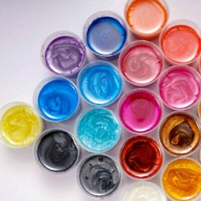 20Color Natural Pearlescent Mica Powder for Epoxy  Resin Color Pigment Resin Dye