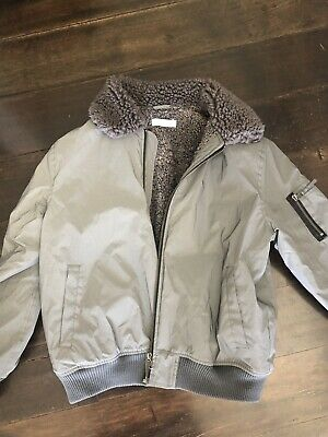 Stella McCartney Grey Winter Jacket