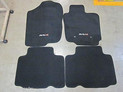 Rav4 Carpet Floor Mats Manual 11/2005 To 12/2012 **Toyota Genuine Parts**