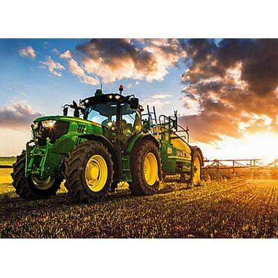 5D DIY Full Drill Diamond Painting Tractor Cross Stitch Embroidery Mosaic #JD