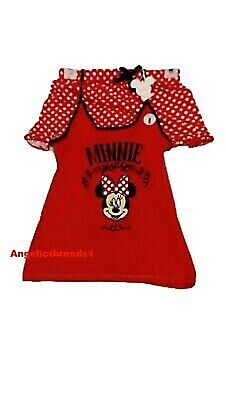 Primark Ladies/Girls Disney Minnie Mouse Cami Vest & shorts Pajama Pyjama Pj Set