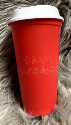 Starbucks Christmas Holiday 2019 Hot Reusable Cup tumbler New Red Orange Peach