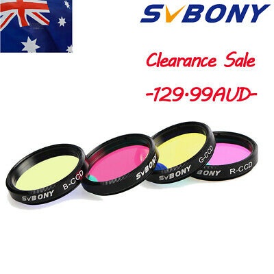 "SVBONY 1.25"" LRGB Imaging Filters for Deepsky and Planetary CCD Imaging Set AU"