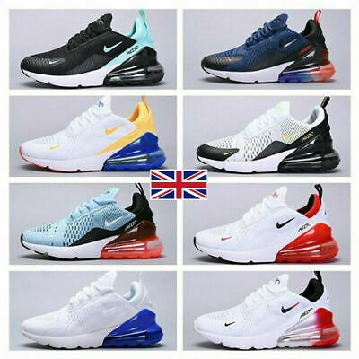 Mens Womens Air-Max 270 Running Shoes Light Sport Trainer Sneakers Size UK 3-10