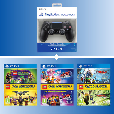 Official Sony Ps4 Dualshock 4 V2 Controller & Save On Lego Double Packs