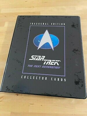1992 Inaugural Edition Star Trek The Next Generation COMPLETE+ Behind The Scenes