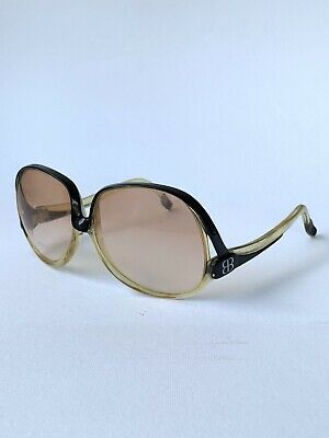Vintage 70s Authentic Balenciaga Paris XL Sunglasses France 7691