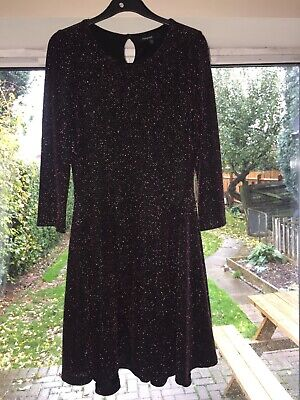 Marks and Spencer Autograph girls dress age 10-11 lovely sparkly Christmas dress