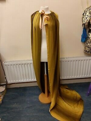 Fabric cape pantomime costume