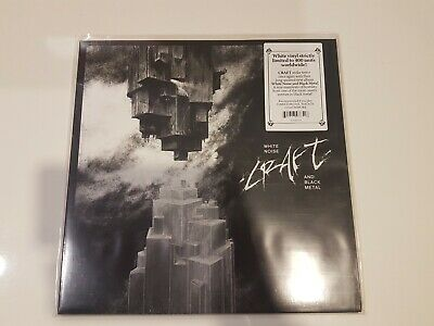 Craft - White Noise And Black Metal, LP White, First Press.