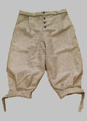 17th Century Breeches - Grey (Undyed wool) Various sizes