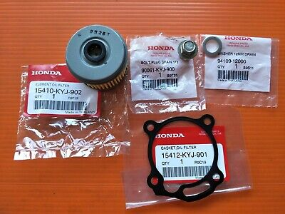 HONDA CRF250L CRF250M CB300R CBR250R Oil Filter & Gasket & Sump Bolt & Washer
