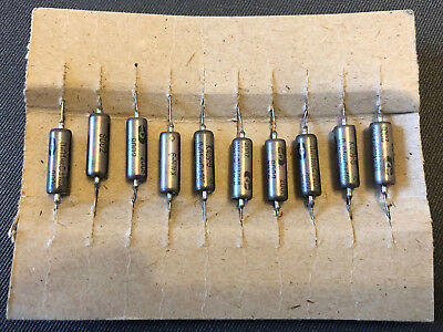 Old Stock 20x K40Y-9 6800pF 200V PIO Paper in Oil Audio Capacitors New