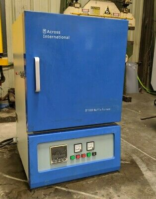 Across International CF1600 40-Segment Muffle Furnace, Great condition