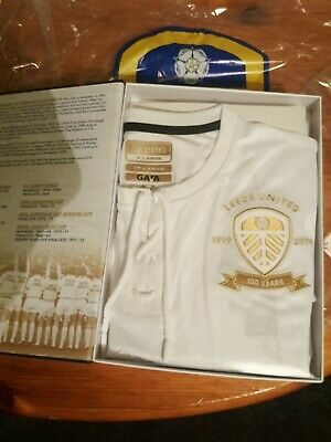 Limited Edition LEEDS UNITED 1919 CENTENARY SHIRT AND BOOK
