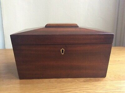 Victorian Mahogany tea caddy