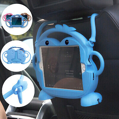 For iPad 10.2 7th 9.7 6th Mini Air Case Protective Rubber Kids Safe Handle Cover