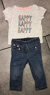 Primark...Next Baby Girls Outfit 6-9 M Vgc