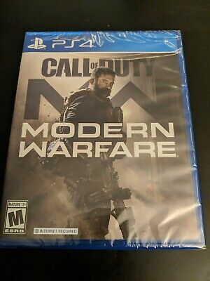 Call of Duty: Modern Warfare Sony PS4 (2019, Brand New Factory Sealed)