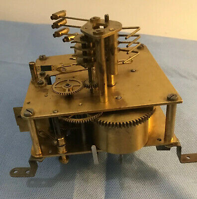 Vintage Possible Westminster Or Whittington  Clock Movement For Spares Or Repair