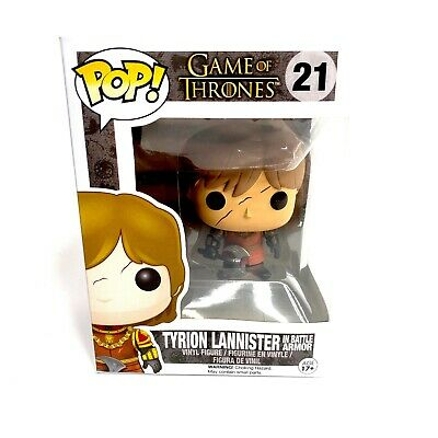 Funko POP! Game of Thrones Tyrion Lannister in Battle Armor #21 Vinyl Figure