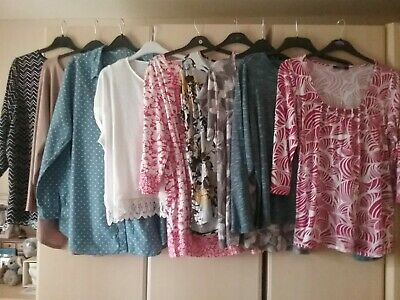 Ladies Top Bundle X 9 . Size 22. Inc New With Tags