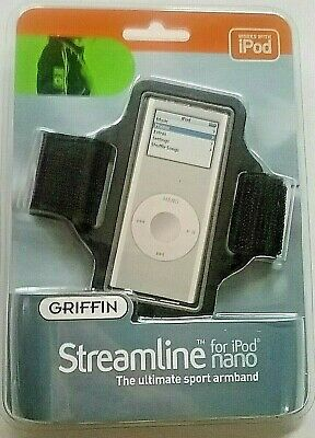 Griffin Streamline Sport Stretchable Armband Case for iPod Nano 1st and 2nd Gen
