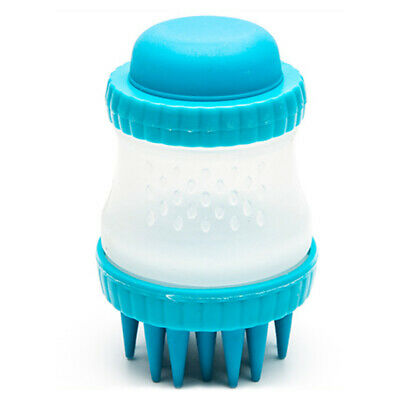 Dog Massage Brush Cleaning Supplies Silicone Shower Pet Cat Hair Grooming Bath