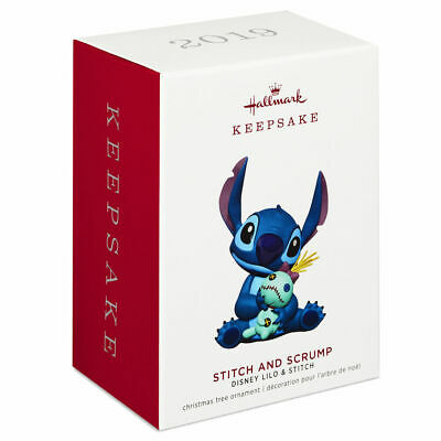 Hallmark Stitch  Scrump Christmas Ornament Nib 2019 Keepsake Lilo Movie