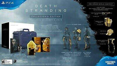 Death Stranding Collector's Edition w/ Pre-order Bonus NEW SOLD OUT PS4 Kojima