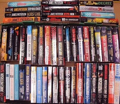 MIXED RANDOM LOT 10 James Patterson PB Book Thriller Mystery no repeat FREE SHIP