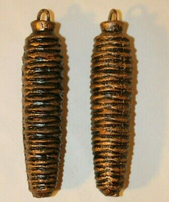 Cuckoo Clock Pine Cone Weights 270 Grams- These Have RUST spots- Set of 2
