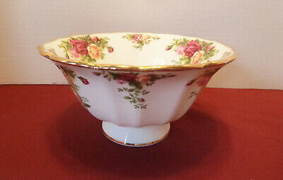 """Royal Albert Old Country Roses Hampstead Footed Bowl 6"""""""