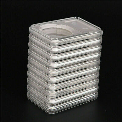 5x Coin Capsule Collection Box Protective Display Case Storage Organizer Holder