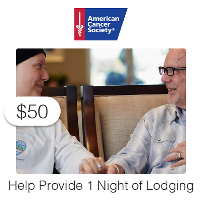 $50 Charitable Donation For: One (1) Night of Lodging