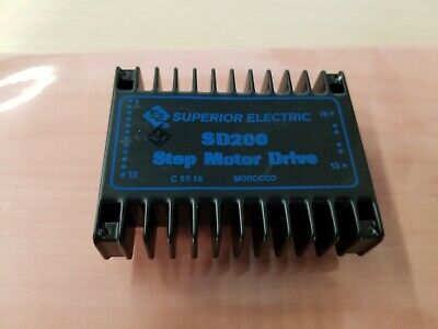 Superior Electric Step Stepper Motor Drive Driver SD200