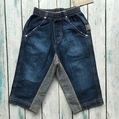 NWT - IKKS French Cord Panel Boys Pull on Jeans