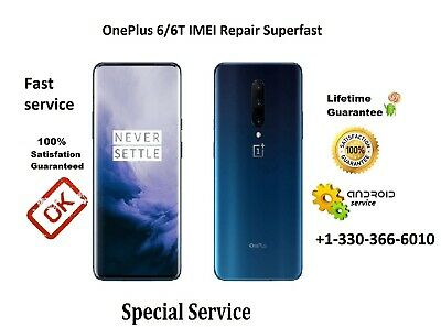 REMOTE REPAIR IMEI Fixing For OnePlus 6/ 6T/ 7/ 7 PRO