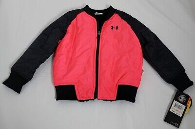 Brand New With Tags Under Armour XStorm Reversible 2T Coat Pink Black