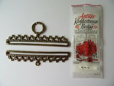 Antikke Klokkestrenge Beslag Bell Pull Hardware Brass Embroidery Fitting New