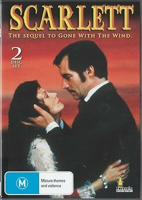 Scarlett - The Sequel To Gone With The Wind - 2 Disc Set - New & Sealed Dvd