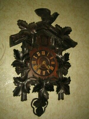 Antique German Black Forest   Cuckoo Clock