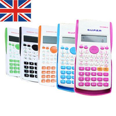 UK Stock Function scientific calculator with 240 calculation Affordable lskn