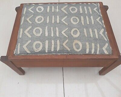 Antique Foot Stool With Storage