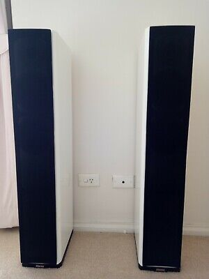 Dynaudio Excite X32's Floor Standing Speakers in Gloss White